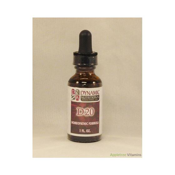 D20 (fka GY Glandin) German Homeopathic Formula