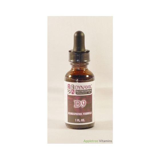 D9 (fka Tussegen) German Homeopathic Formula