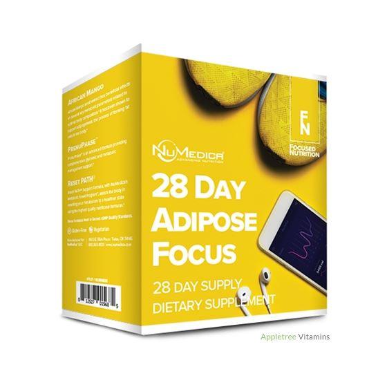 Numedica 28 Day Adipose Focus Program Nutrition Ki