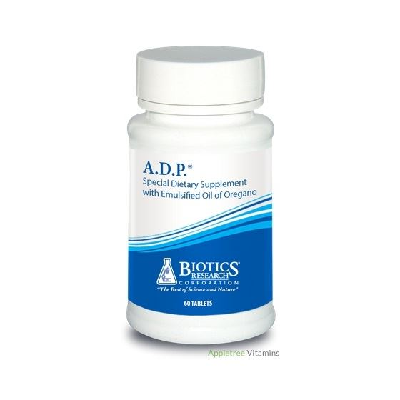 A.D.P.® Emulsified Oregano - Delayed Release (60T)