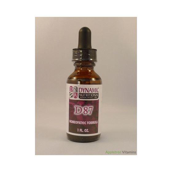 D87 (fka Trim Tex) German Homeopathic Formula