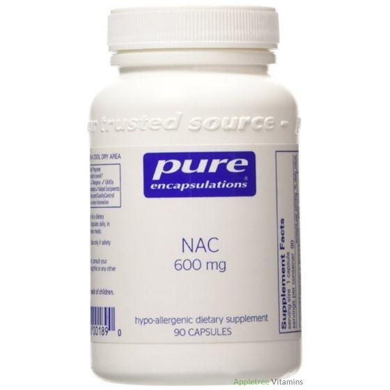NAC N-ACETYL-L-CYSTEINE 600MG 90C