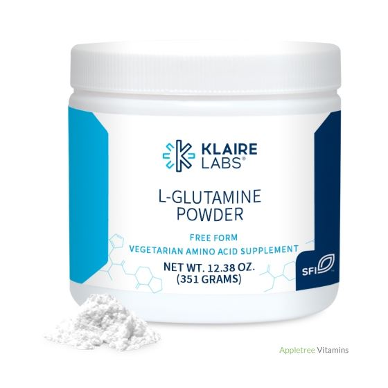 Klaire Labs L-Glutamine Powder 12.38 oz.