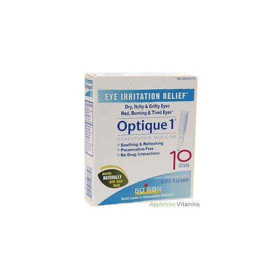 Optique 1 Eye Drops - 10 Single-Use Doses (0.013 f