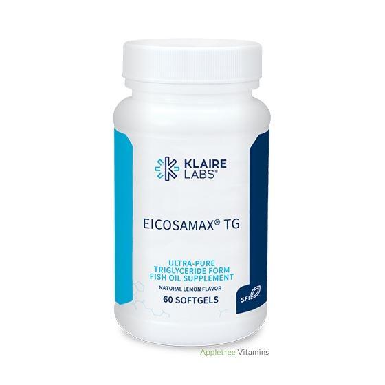 Klaire Labs Eicosamax TG 60 Softgels