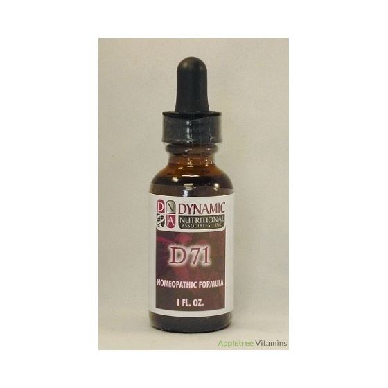 D71 (fka Scialgin) German Homeopathic Formula