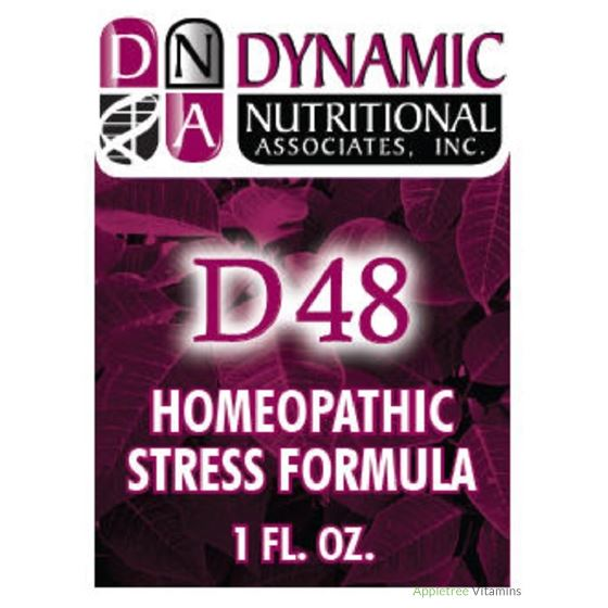 DNA D48 (fka Pulmonary) German Homeopathic Formula