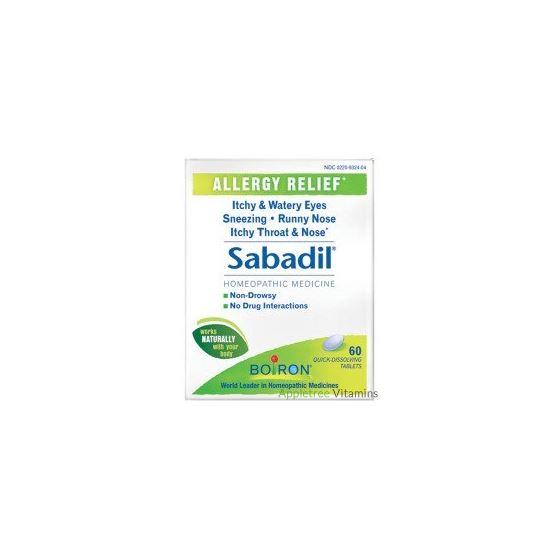 Sabadil (Allergy Relief) - 60 Tablets