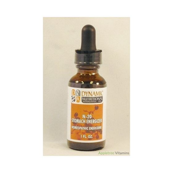 N-20 Stomach Energizer Homeopathic Endocrine Formu
