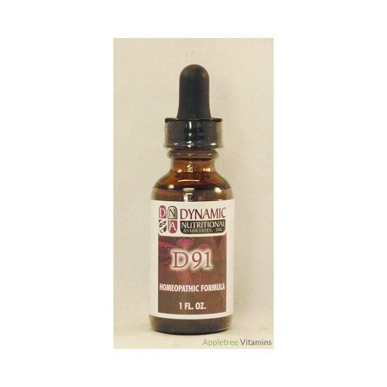 D91 (fka EPBarrex 2) German Homeopathic Formula